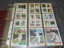 1974 Topps Baseball Complete Set & Traded Set