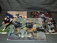 Lot of (5) Color NFL Players Photos
