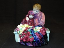 Royal Doulton Figurine. Flower Sellers Children