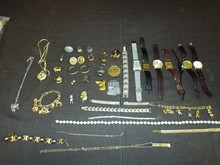 Costume Jewelry Lot including Watches