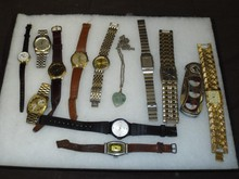 Costume Jewelry & Watches.