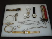 Costume Jewelry & Silver Lot.