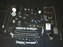 Sterling and Costume Jewelry Lot.