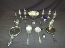 19 Assorted Sterling Silver Pieces.