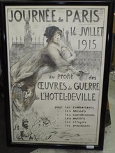 Journee de Paris 1915, War Poster