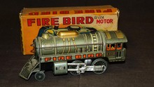Japanese Tin Fire Engine Boxed.
