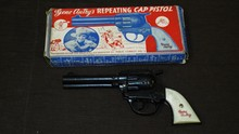 Hamilburg Gene Autry Cap Gun Boxed.