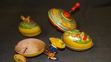 Lot of Assorted J. Chein Tin Toys