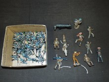 Lead Cast Toy Soldier Lot