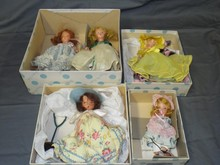 (4) Nancy Ann Storybook Dolls