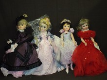 (4) Large Madame Alexander Dolls