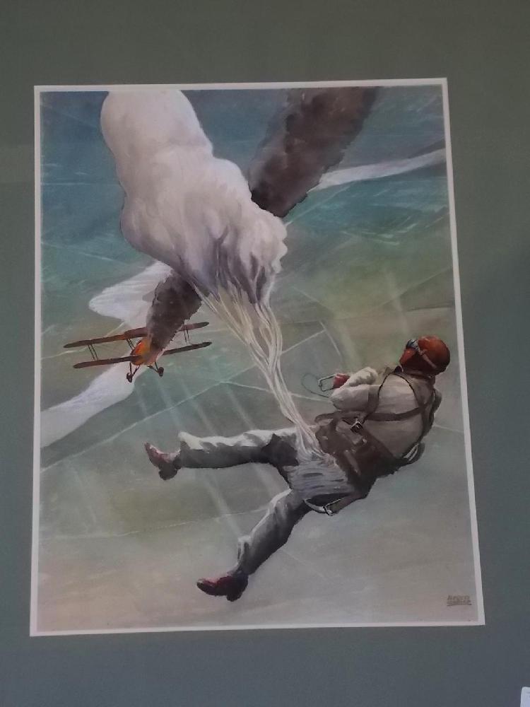 Alfred Owles, Original Watercolor Illustration