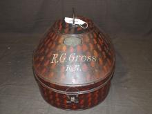 Naval Outfitters Tin Litho Storage Container