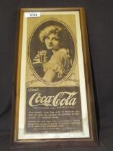 1919 NY Times Coca Cola Marion Davies Ad
