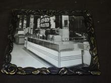 Original Ice Cream Fountain Photo.