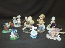 Modern Ice Cream Figurine Lot