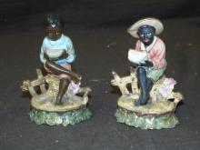 Black Americana Figural Porcelain Lot