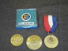 Group of World's Fair Souvenir Medals
