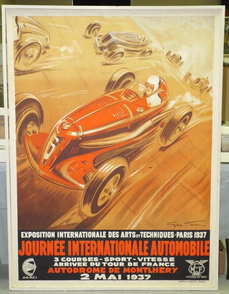 G. Ham. Journée Internationale Automobile. 1937.