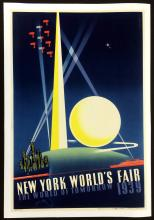 1939 NY World's Fair Poster, Joseph Binder