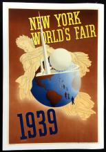 1939 NY World's Fair Poster, John Atherton