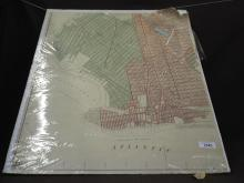 1936 Brooklyn Map of Renaming Streets