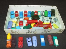Super 1960's Tootsie Vehicle Lot.