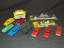 Tootsie Vehicle Lot.