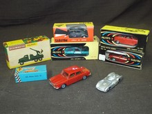 Vintage Die Cast Car Lot. Politoy.