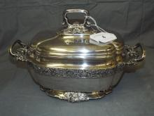 Tiffany & Co Sterling Silver Covered Tureen