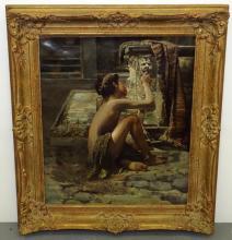 Raschella. Oil on Canvas.