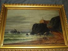 San Francisco CA Cliff House Painting