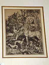 Albrecht Durer Engraving,