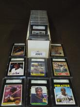 Graded Baseball Superstar Card Lot.