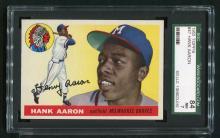 1955 Topps Hank Aaron #47