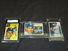 Ted Williams Card Lot of Three.
