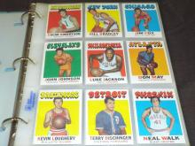 Basketball Card Set. 1971