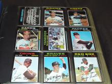 Baseball Set. 1971 Complete.