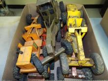 Assorted Pressed Steel Truck & Vehicle Lot