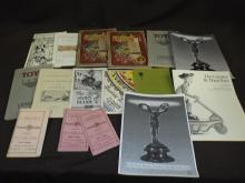 Interesting Lot of Reproduction Toy Catalogues.