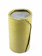 A bank roll of coins