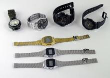 *Selection of gentlemen's Casio wristwatches, including G-shock (Lot subject to VAT)