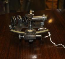 *A small sextant, (Lot subject to VAT)