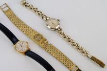 Three ladies' watches including Ingersoll
