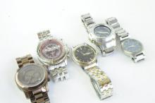 *Selection of gentlemen's bracelet wristwatches including Michael Kors  (Lot subject to VAT)