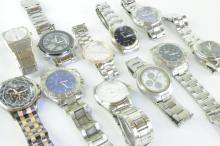 *Selection of gentlemen's bracelet wristwatches including Lorus (Lot subject to VAT)
