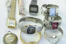 Selection of mixed wristwatches including a 17 jewel castle model