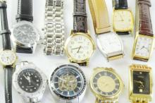 Selection of gentlemen's wristwatches including Rotary
