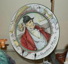 A Royal Doulton plate, series ware, 'The Hunting Man', D3349