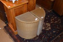 Two Lloyd Loom 'Lusty' laundry baskets